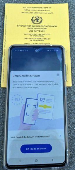 Der Digitale Impfnachweis Erlaubt Schnellen Zugriff Rheingau Echo